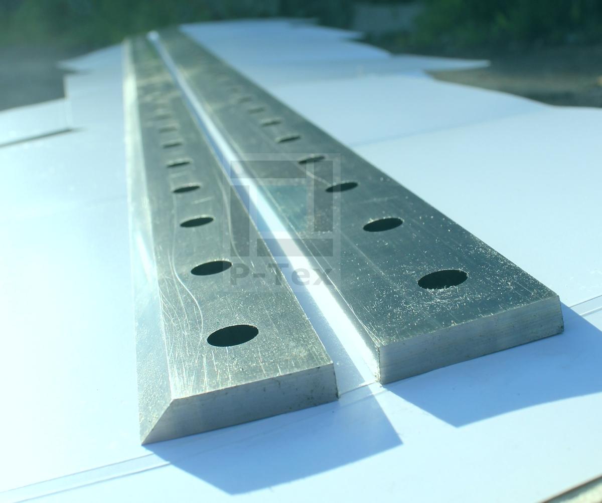 Гильотинные ножи с размерами 1350-40-8 (угол 45 и 83)