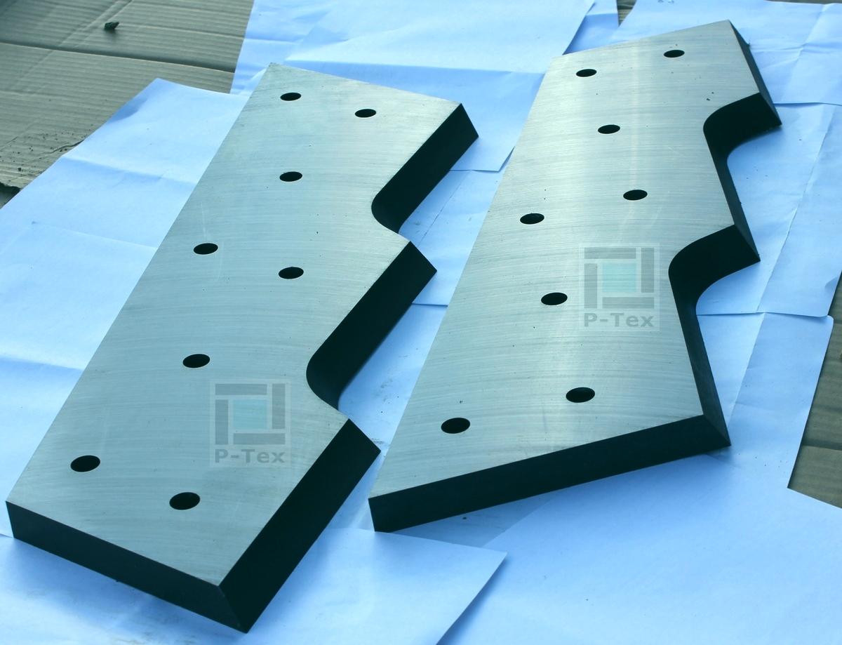 Ножи для пресса с размерами 510-150-23