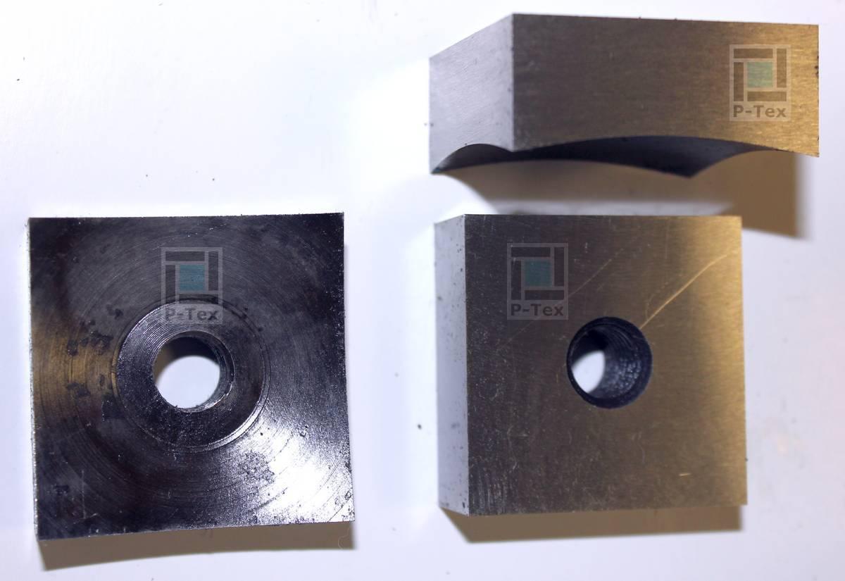 Корончатые (роторные или квадратные) ножи для шредера 50х50